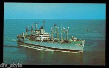 USS Fremont apa-44 Tarjeta Postal NOS MARINA Enviar Flota Oficina de correos