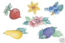Wallies Wallpaper Cutouts Pfaltzgraff Summer Garden