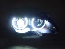 DEPO LED HID Angel Halo Projector Headlight For 02-06 BMW E46 M3 Stock Bi-Xenon