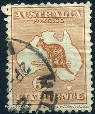 AUSTRALIE CONFEDERATION N° 7 AVEC LEGERE OBLITERATION