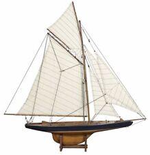 "AS108F Americas Cup Columbia sailboat model 1901 J Class Yacht 37"" sailing ship"