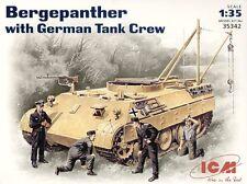 ICM 1/35 Bergepanther with German Tank Crew # 35342
