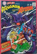 Brave And The Bold 71 DC Silver Age 1967 Aquaman & The Atom