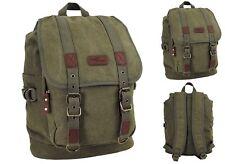 30 Liter Rucksack Retro Vintage Outdoor Canvas Backpack Bag Reisetasche Tasche