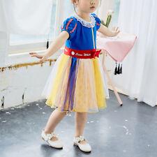 Girl Princess Dress Rapunzel Snow White Elsa Party Fancy Party Halloween Dresses
