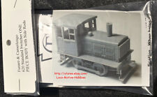 LMH Funaro F&C 620  PLYMOUTH Diesel SIDE ROD YARD SWITCHER Critter 1-PIECE Shell