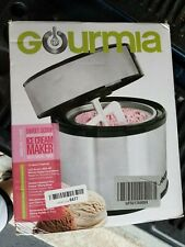 Gourmia Sweet Scoop 1.5qt Stainless Steel Ice Cream Maker