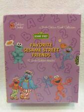 NEW VTG Favorite Sesame Friends Classic Collection Box Set 10 Little Golden Book