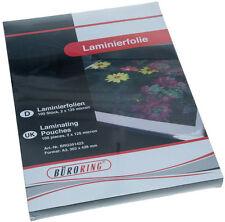 1A Laminierfolien DIN A3 80 Mic 100 Stück Premiumqualität kopfverleimt im Karton