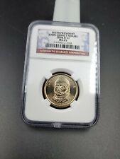 2008 d John Quincy Adams Presidential Dollar Coin NGC GEM BU MS65