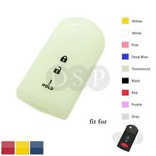Night Glow Silicone Cover fit for MAZDA 2 3 5 6 Flip Remote Key 3 Button 2532TR