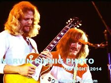 THE EAGLES - JOE WALSH & DON FELDER PHOTO - VERY RARE 8x11 pic1976 SALE LA FORUM