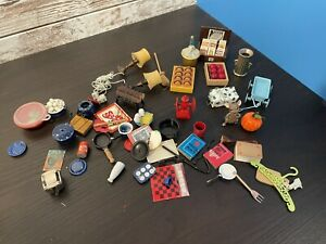 Dollhouse Miniature Kitchen And Accessories Lot 1