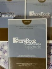 Creative Memories Storybook Creator Manager Upgrade 3.0 Cd Software Lot of 3