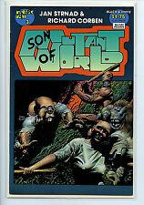 Son of Mutant World #3 nm+ Comic Fantagor 1990 L2