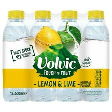 Volvic Touch of Fruit Lemon & Lime Natural Flavoured Water 12 x 500ml
