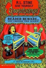 Under the Magician's Spell (Give Yourself Goosebumps) by R. L. Stine, Good Book