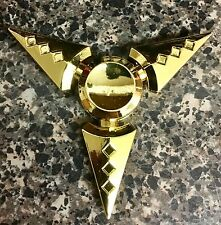 NARUTO Golden Triangle Diamond Tri-Spin Fidget Spinner Toy 🇺🇸US SELLER FAST ✈️