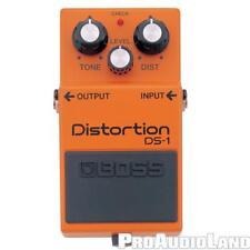 Boss Ds-1 Distortion Guitar Effect Pedal New