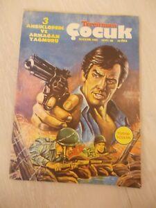 STAR WARS COMIC 1982 TURKISH RARE TURKEY PINK PANTHER c