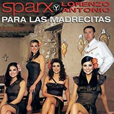 Sparx y Lorenzo Antonio Para Las Madrecitas CD New Sealed