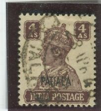 India - Convention States - Patiala Stamps Scott  #111 Used,F-VF+ (X6519N)