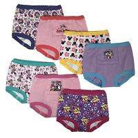 Disney Minnie Mouse Girls Potty Training Pants 7-pack Panties Underwear Toddler