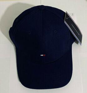 Tommy Hilfiger Mens Classic Baseball Summer Navy hat Cap 🧢