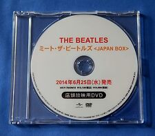 THE BEATLES 'Japan Mini-LP Box'  Rare 2014 Japan DVD For Music Store Use Only
