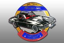 Autocollant Original Snap-on 1963 'CORVETTE nouveau sport automobile racing Décalque Sticker NEW