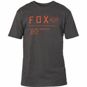 2021 Fox Non Stop SS Premium Tee - Black/Orange, Medium