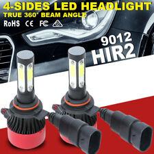 New listing Hir2 9012 4Side Led Headlight Kit Bulb Foglight 72W 16000Lm 6000K Driving Lamp