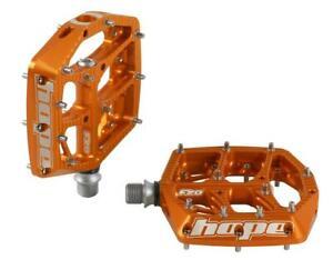 Hope F20 Flat Pedals Orange