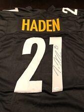 Joe Haden Autographed Custom Pittsburgh Steelers Jersey TSE Coa Jersey #3