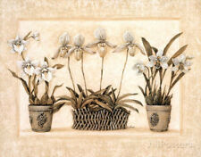 Tuscan Contemporary Flowers Poster - 28x22