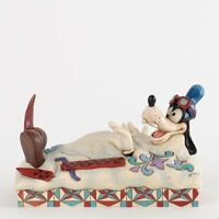 Official Jim Shore for Enesco Disney Traditions Goofy Skiing Figurine 4-Inch