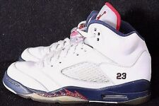 Nike 440888-103 Air Jordan 5 Olympic Retro HT Basketball Sneaker Boy's US 5Y