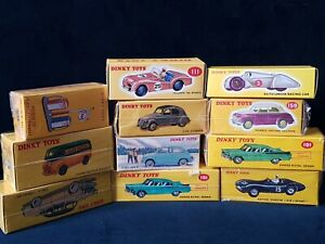 Atlas Editions vintage 11 Dinky Toys  collection . All still sealed and mint .