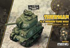 Meng Model WWT002 US Medium Tank M4A1 Sherman (Q Edition)