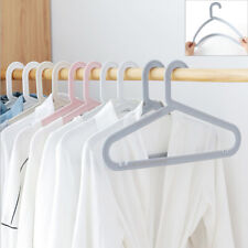 Home Closet Coat Hangers Suit Garment Clothes Coat Hanger Non Slip 10pcs