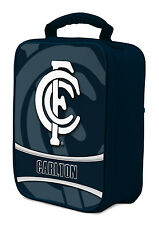 AFL Carlton Blues COOLER BAG Zip opening insulated Drink Work School Lunch Box