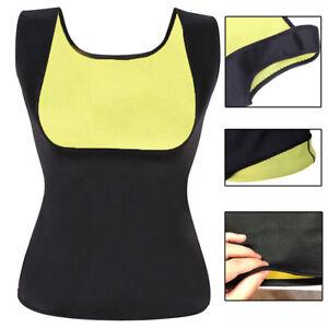 Women Vest Hot Sauna Top Neoprene Slimming Shaper Fat Sweat Burn Loose Weight