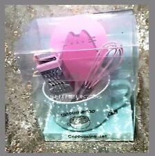 Pusheen Cappuccino Set Novelty Gift Mug,Stencil,Whisk,Grater Gift set Primark BN
