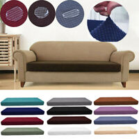 1-4Seats Waterproof Sofa Seat Cushion Cover Couch Stretchy Slipcovers Protector