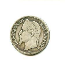 2 francs argent Napoléon III 1870 A n°E1090