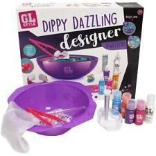 GL Style Dippy Dazzling Designer Kit Tie Dye Jewellery Fashion Making Kids Set