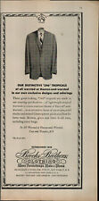 1956 Brooks Brother's Clothing Men Jacket With Tie Vintage Print Ad 3011