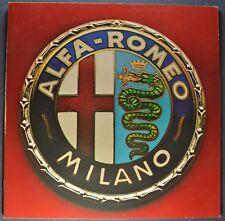 1986-1987 Alfa Romeo Milano Catalog Sales Brochure Excellent Original