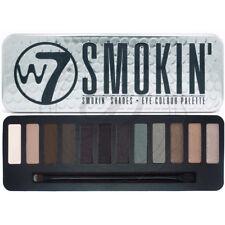 W7 Eyeshadow Palette Smokin - Smokey Eyes Dark Blend Cat Colours Shimmer Matte