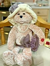 "Chantilly Lane Musical Purple Bear - 22"" Rose Singing ""Love"" Includes Batteries"